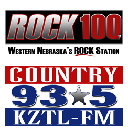 radio, 93.5, country music, rock 100, rock, 100.7, sponsorship, north platte area sports commission, play north platte, lincoln county, nebraska, ne