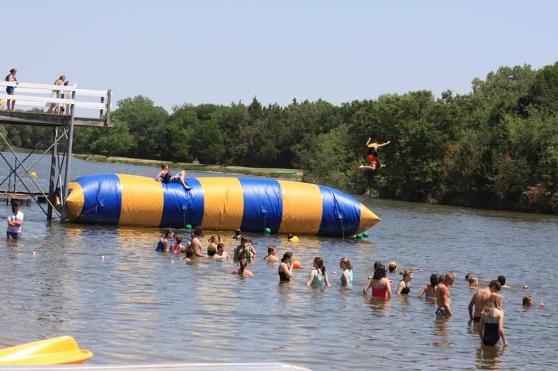 Maranatha Camp, Maxwell, NE, Nebraska, Maranatha, swimming, outdoor pool, lake, kayak, canoe, trampoline, paddle board, fishing, north platte area sports commission, play north platte, lincoln county