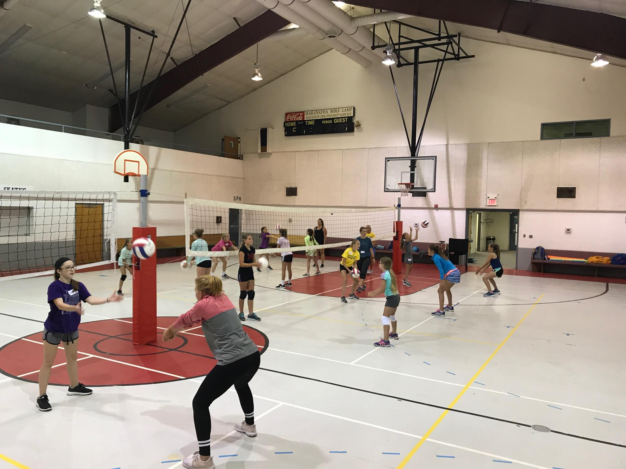 Maranatha Camp, Maxwell, Nebraska, NE, Indoor Courts, Volleyball, Basketball, Facility, North Platte Area Sports Commission, Play North Platte