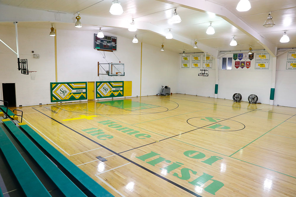 Saint Patricks High School, Catholic, Indoor Courts, Gymnasium, Gym, Facility, St Pats, North Platte, Nebraska, NE, North Platte Area Sports Commission, Play North Platte
