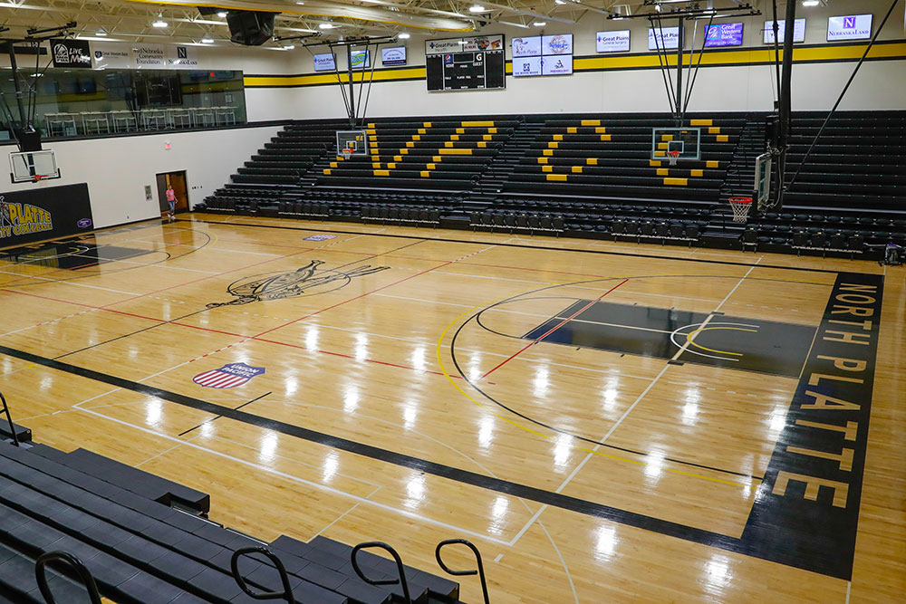 North Platte Community College, Mid Plains Community College, Knights, Volleyball, Basketball, College, North Platte, NE, Nebraska, North Platte Area Sports Commission, Play North Platte, Facility, Indoor Courts, Gymnasium, Gym