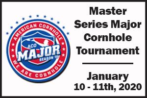 ACO, American Cornhole Organization, master, major, cornhole, bag toss, tournament, north platte, nebraska, ne
