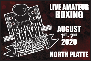 north platte visitors bureau, north platte area sports commission, play north platte, north platte, nebraska, ne, usa boxing, boxing, ring, buffalo bill brawl, national open tournament, missouri, south dakota, kansas, colorado, iowa